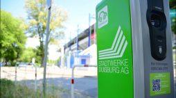Stadtwerke Duisburg investieren an drei Standorten in neue Ladesäulen