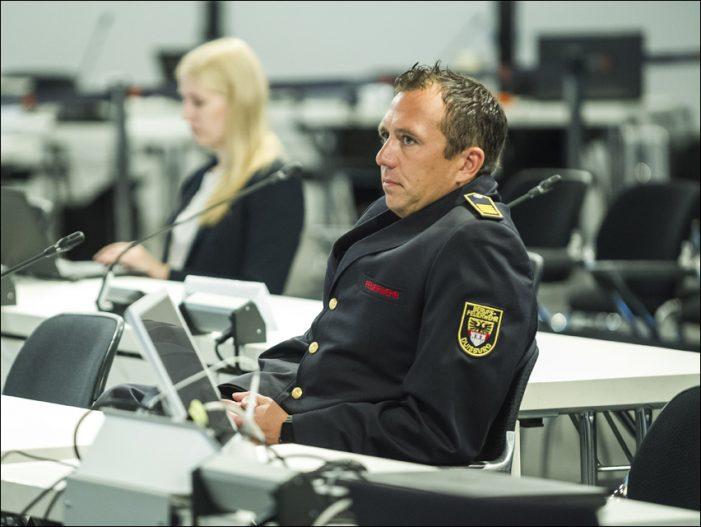 Loveparade-Strafprozess: Feuerwehrchef Oliver Tittmann im Zeugenstand