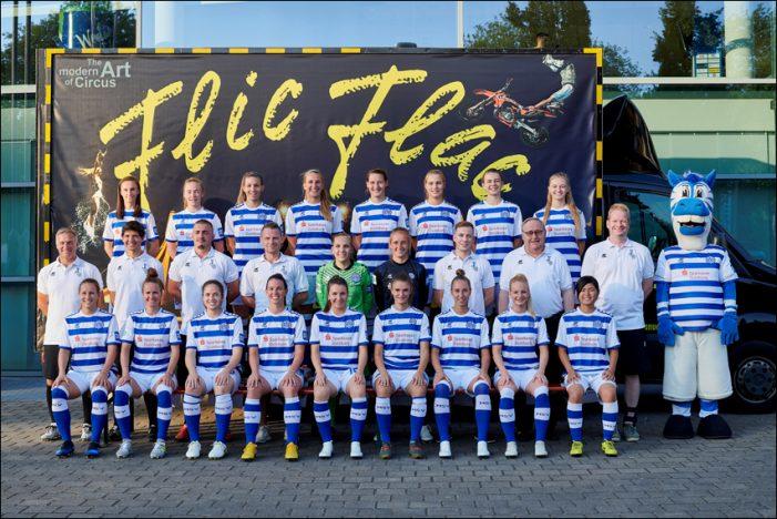 FLIC FLAC neuer Hauptsponsor der 1. Frauenfußballmannschaft des MSV Duisburg