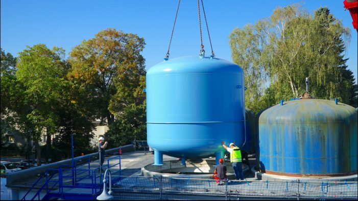Stadtwerke Duisburg investieren in sechs neue Großfilter zur Trinkwassergewinnung