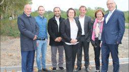 ZebraPark: Erschließungsstraße für neues Gewerbezentrum in Duisburg ist fertiggestellt
