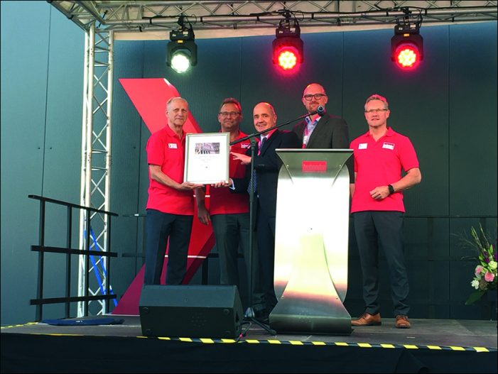 Brabender Technologie erweitert in Duisburg-Wanheimerort