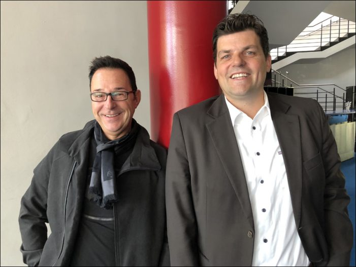 Doppelspitze für das TaM in Duisburg: Wolfgang DeMarco und Bram ten Hove, zwei Männer mit Biss