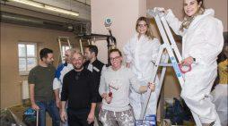 Social Day im Kulturbunker Bruckhausen: Führungskräfte von IKEA Duisburg packen mit an