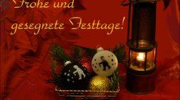 Wir wünschen unseren Lesern frohe, gesegnete Weihnachten und einen guten Rutsch ins neue Jahr!