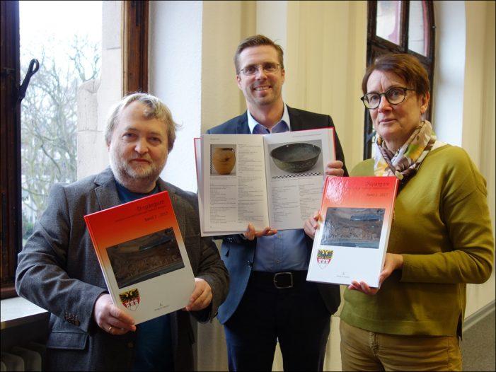 """Stadtarchäologie in Duisburg stellte mit """"Dispargum 2017"""" seinen zweiten Jahresband vor"""