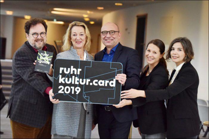 Mit der RuhrKultur.Card 2019 ein Jahr lang das volle Kulturprogramm im Ruhrgebiet erleben