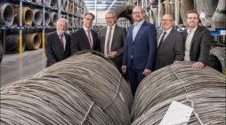 """OB Sören Link im Wirtschaftsdialog bei der Hermann Fliess & Co. GmbH: Schweißdrähte """"made in Duisburg"""""""