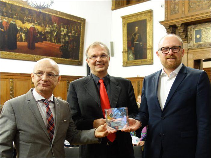proDUISBURG e.V. ehrte Krankikom mit Duisburger Kaisermünzenpreis 2018