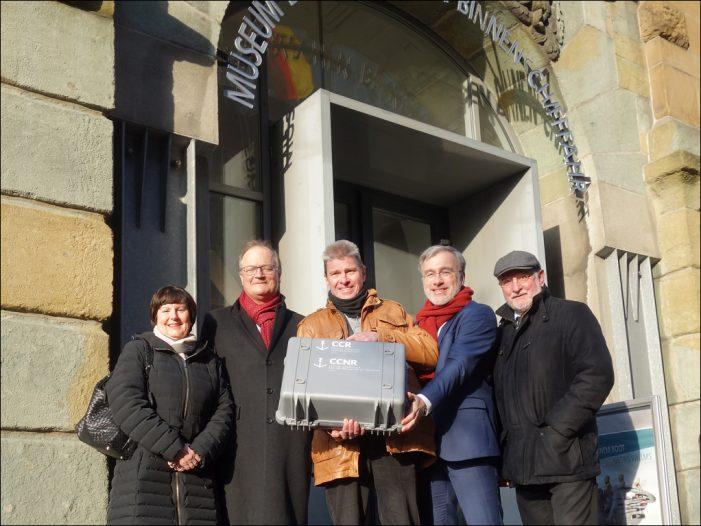 Museum der Deutschen Binnenschifffahrt in Duisbur-Ruhrort zeigt die Mannheimer Akte