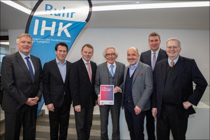 Wirtschaftlicher Rahmen für die Ruhrkonferenz: Infrastruktur und Know-how sind die Basis