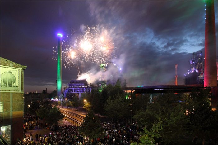Rückblick auf ein betriebsames Jahr 2018: Über 1,1 Millionen Gäste im Landschaftspark Duisburg-Nord