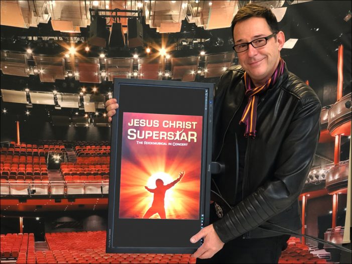 "Eigenproduktion im Theater am Marientor: ""Jesus Christ Superstar – The Rockmusical in Concert"" läuft von 12. bis 22. April 2019 in Duisburg"
