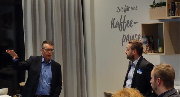 Marketing-Club Duisburg-Niederrhein: Geschäftsführer Uwe Busch stellte den Stadtsportbund vor
