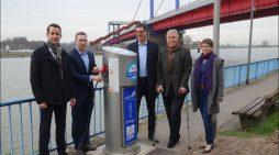 Duisburger Hafen AG: Intelligenter Landstrom am Ruhrorter Hafenmund versorgt Binnenschiffe