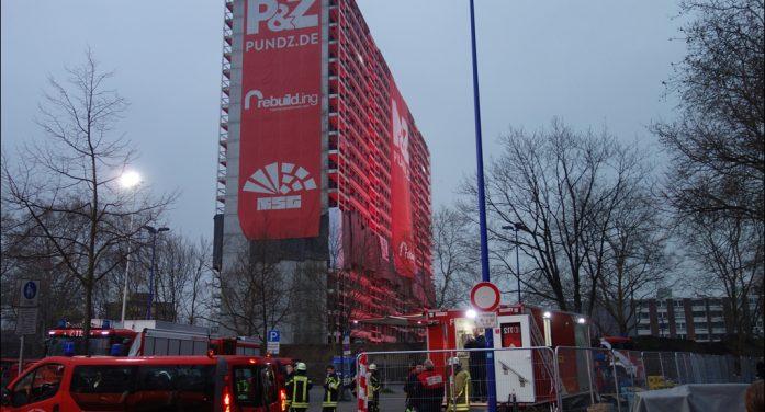 Sprengung des Weißen Riesen erfolgreich: Duisburgs Oberbürgermeister Sören Link dankt den Beteiligten