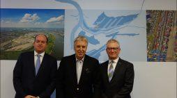 Duisburger Hafen AG legte auf der Bilanzpressekonferenz Umsatz- und Ertragsrekorde vor