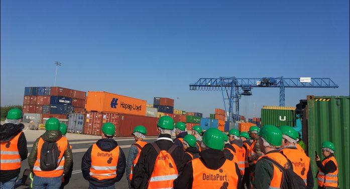 Tag der Logistik: Hafenverbund DeltaPort im Kreis Wesel stellt innovative Hafenlogistik vor
