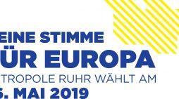 """""""Meine Stimme für Europa"""": RVR startet Mobilisierungskampagne zur Europawahl in Duisburg"""