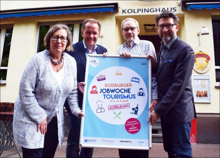Duisburger Jobwoche Tourismus setzt auf Ausbildung