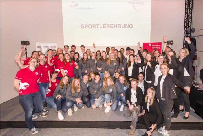 Sportlerehrung 2018: Roter Teppich und Lachsalven für Duisburgs Sportstars