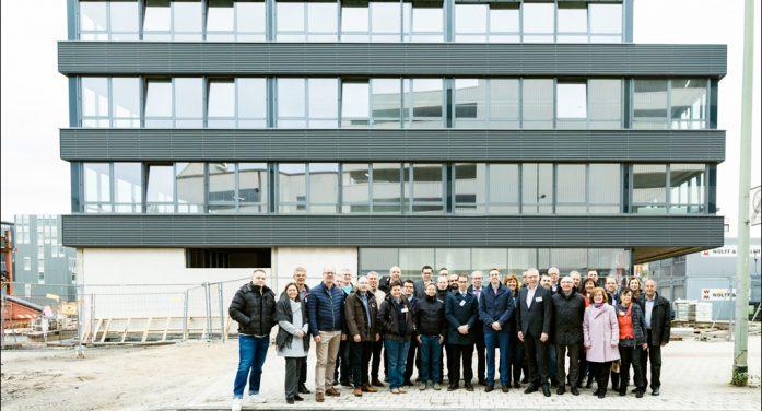 Baustammtisch von GFW Duisburg und Bauindustrieverband NRW unterwegs