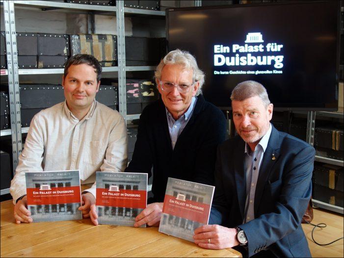 Duisburg: Filmforum stellte neue Publikation über den Mercator-Palast vor