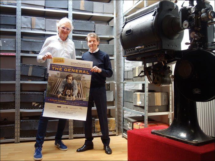 "Stadtwerke-Sommerkino: Duisburger Philharmoniker begleiten Buster Keatons ""The General"""