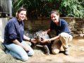 Tierärzte im Zoo Duisburg haben viel zu tun