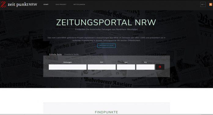 Stadtarchiv Duisburg: Erste historische Zeitungen sind im Internet abrufbar