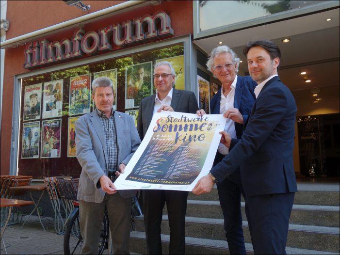 Stadtwerke Sommerkino in Duisburg: Veranstalter stellten Pogramm vor
