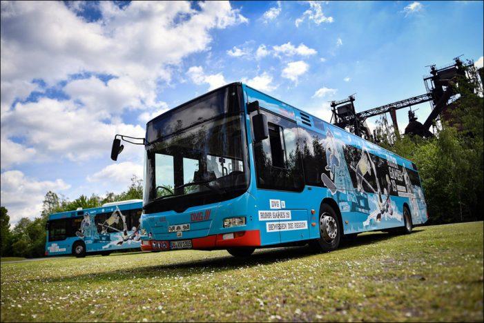 Ruhr Games 2019 in Duisburg: DVG setzt Bus-Shuttle ein