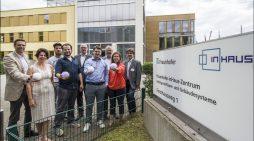 Duisburgs Oberbürgermeister Sören Link im Wirtschaftsdialog bei ichosystems