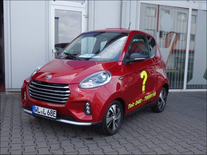 Fahrbericht: Elektromobilität by Lada – ZhiDou D2S
