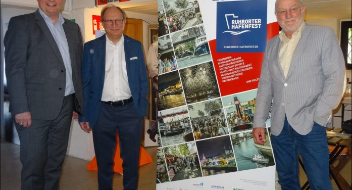 26. Ruhrorter Hafenfest kündigt sich an mit vielen Attraktionen