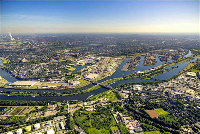 """Start des Projektes """"enerPort"""": Duisburger Hafen als Vorbild für Binnenhäfen"""