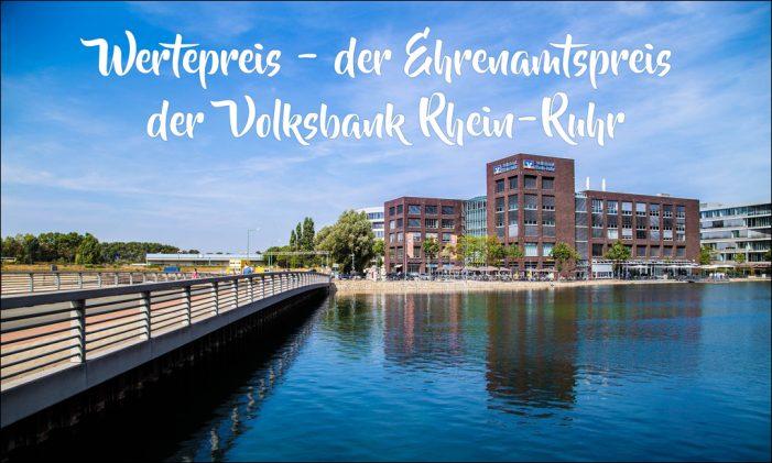 Volksbank Rhein-Ruhr: Wertepreis zeichnet Ehrenamtler in der Region aus