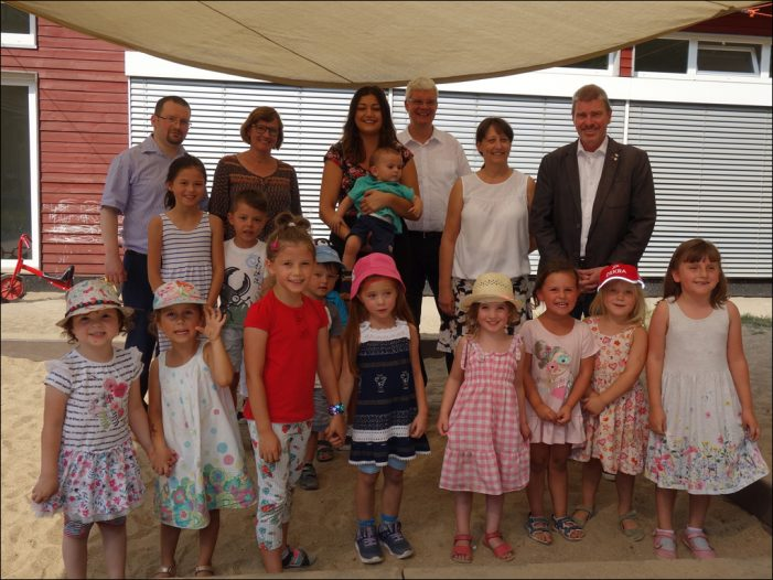 Jüdische Gemeinde feierte 10 Jahre Gemeindekindergarten mit Eltern und Gästen