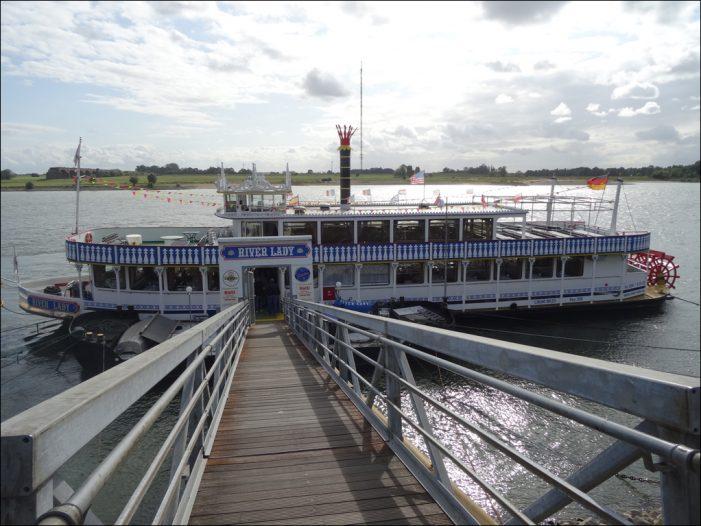 Deltaport Niederrheinhäfen boten Einblicke in ihre Entwicklungen vor Ort