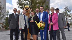 Landesgartenschau Kamp-Lintfort 2020: NRW-Umweltministerin Ursula Heinen-Esser übernimmt Baumpatenschaft
