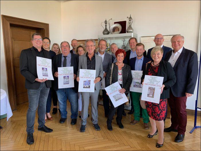 Preisverleihung zum Fassadenwettbewerb Make up Duisburg 2018