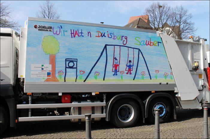 Duisburger Wohnungsgenossenschaften und die Wirtschaftsbetriebe: Wettbewerb für Schulen