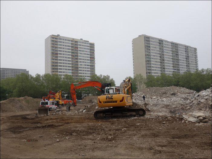 Weiße Riesen in Homberg-Hochheide: Bürgerbeteiligung zur Planung der freiwerdenden Flächen