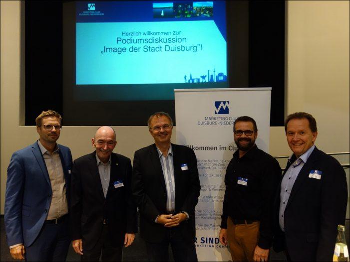 Marketing-Club Duisburg-Niederrhein diskutierte über das Image der Stadt