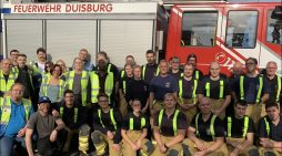 Üben für den Ernstfall: Evakuierungsübung bei Yusen Logistics am Standort Duisburg