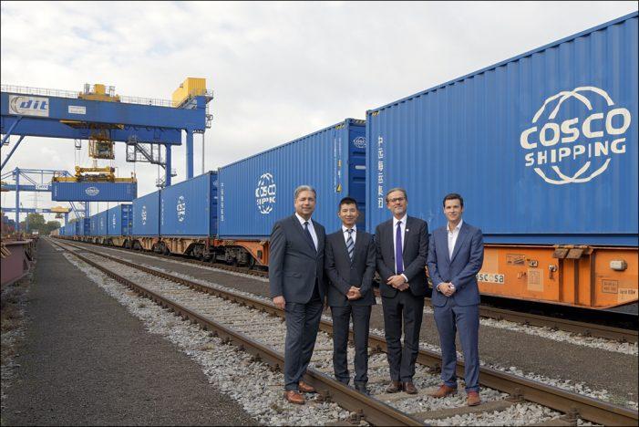 Gütertransport: Hinterlandverbindung zwischen Duisburg und Zeebrügge steht