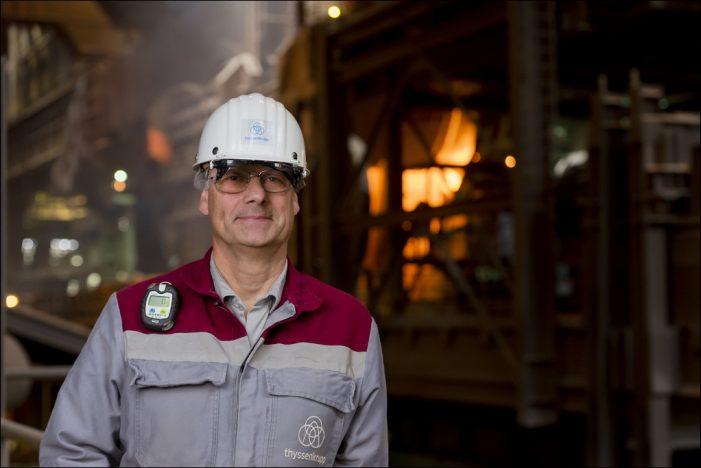 Jung geblieben: Oxygenstahlwerkvon thyssenkrupp in Duisburg  feierte 50-jähriges Jubiläum