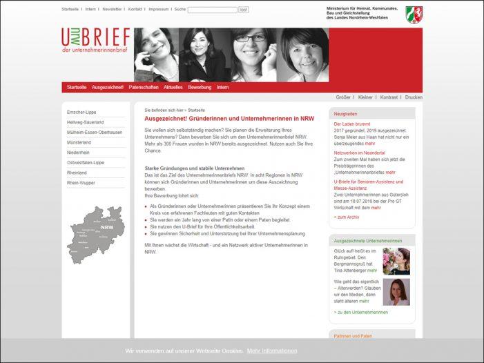 Unternehmerinnenbrief NRW: Neue Bewerbungsrunde ist in Duisburg gestartet