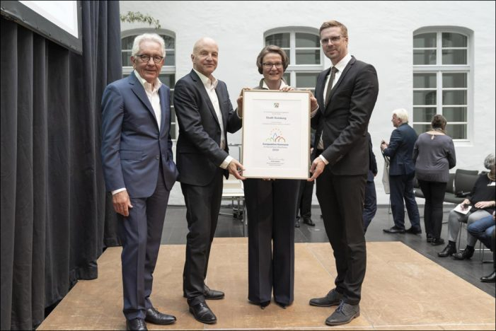 Duisburg für vorbildliche Europaarbeit ausgezeichnet