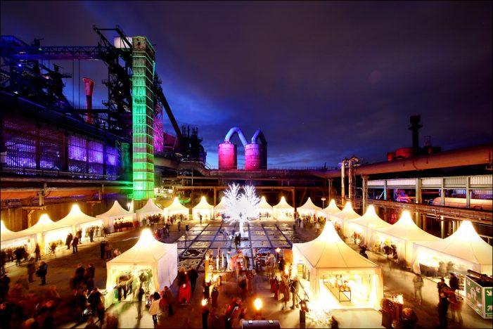 5. schauinsland-reisen Lichtermarkt leuchtet wieder im Landschaftspark Duisburg-Nord